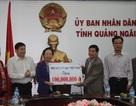 Chủ tịch Hội Khuyến học Việt Nam trao tặng 300 triệu đồng cho Hội Khuyến học tỉnh Quảng Ngãi