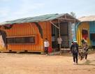 Quảng Ngãi: Tân trang nhà bán trú container cho học sinh vùng cao