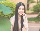 Năm mới 2018, Hoa khôi Huỳnh Thúy Vi e ấp bên sen