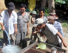 Phú Yên: Cơ sở phế liệu xả thải chưa xử lý, giếng nước người dân nổi bọt trắng!