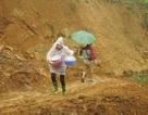 Hoa hậu Biển vượt đường núi nguy hiểm hỗ trợ người dân sau cơn lũ