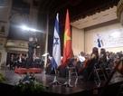 Tổng thống Israel xem hòa nhạc tại Hà Nội