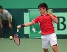 Đội tuyển quần vợt Việt Nam thua chóng vánh ở ngày đầu Davis Cup