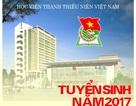 Học viện Thanh thiếu niên Việt Nam thông báo nhận hồ sơ xét tuyển đại học chính quy đợt 2 năm 2017