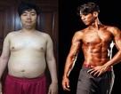 """Từ 100 kg, chàng trai Hàn lột xác thành """"hot boy 6 múi"""""""