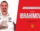 Thi đấu thăng hoa, Ibrahimovic ẵm cú đúp giải thưởng