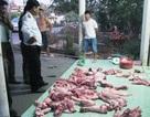 Tạm giữ hơn 130 kg thịt heo không qua kiểm dịch