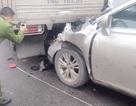 Một xe phanh gấp, 3 xe tông nhau liên hoàn trên quốc lộ