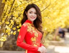 Hot girl Phú Yên xinh tươi đón Tết