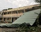 Trường thi tốc mái, cây đổ, đường ngập… sau cơn mưa giông kinh hoàng