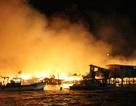 Trắng đêm khống chế đám cháy cực lớn ở Nha Trang