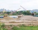 """Ninh Bình: Đình chỉ hàng loạt bãi cát """"lậu"""" sau phản ánh của Báo Dân trí"""