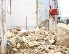 """""""Vá"""" đoạn kênh thoát lũ bị vỡ từng gây sập 4 nhà dân ở Nha Trang"""