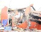 Hiện trường đổ nát vụ cháy siêu thị 2 tầng ở Hà Nội