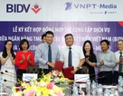 BIDV và VNPT-Media ký kết hợp đồng hợp tác cung cấp dịch vụ
