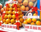 Những sản phẩm độc đáo từ quả cam xứ Nghệ