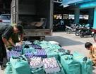 Dùng 2 xe tải chở  21.000 bao thuốc lá lậu