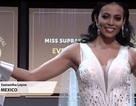 """Hoa hậu Mexico mặc trang phục NTK Việt Nam tại """"Hoa hậu siêu quốc gia"""""""