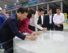 Nhà máy kính tiết kiệm năng lượng chất lượng cao CFG Ninh Bình chính thức ra sản phẩm
