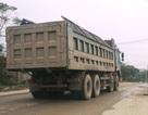 """Ninh Bình: Tỉnh chỉ đạo xử lý đoàn xe """"siêu tải"""", cơ quan chức năng """"kêu khó""""!"""