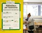 Hai vùng giàu nhất Italy trưng cầu dân ý đòi tự trị