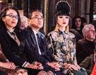 Jessica Minh Anh xuất hiện trên ghế đầu tuần lễ haute couture tại Paris