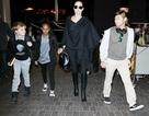 Angelina Jolie gày gò ra phố
