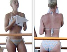Katy Perry khoe dáng săn chắc trong bộ áo tắm hai mảnh