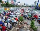 """TPHCM: """"Vỡ trận"""" xe hợp đồng, giao thông ngày càng hỗn loạn!"""