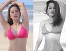 """""""Gái một con"""" Khánh Thi tự tin diện bikini gợi cảm và quyến rũ"""