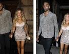 Khloe Kardashian nhỏ bé bên bạn trai cao hơn 2m