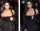 Kim Kardashian gây choáng với trang phục hở bạo