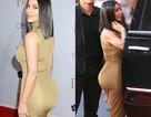 """Kim Kardashian khoe """"vòng ba"""" ngoại cỡ"""