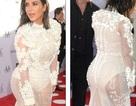Kim Kardashian diện váy xuyên thấu nổi bật