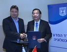 Việt Nam và I-xra-en hợp tác toàn diện về Khoa học và Công nghệ.