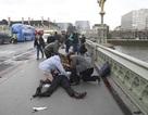 Hiện trường vụ khủng bố bên ngoài trụ sở quốc hội Anh