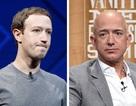 """Tài sản các ông chủ Amazon và Facebook """"bốc hơi"""" hơn 6 tỷ USD trong 5 ngày"""