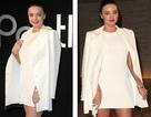 Miranda Kerr thanh lịch với đầm trắng