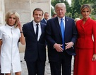 Ông Trump khen Đệ nhất phu nhân Pháp có thân hình đẹp