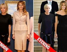 Đọ phong cách thời trang của Đệ nhất phu nhân Mỹ-Pháp