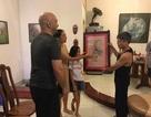 """Người vẽ giúp cao thủ Flores bức tranh """"Mãnh hổ"""" tặng võ sư Việt là ai?"""