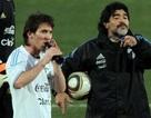 Maradona hứa sẽ tác động để giảm án cho Messi