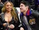 Mariah Carey khoe ngực đầy đi xem bóng rổ