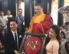 MC Thành Trung và bạn gái 9x tổ chức đám cưới ở chùa