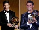 C.Ronaldo gọi điện báo cho Messi sau khi giành Quả bóng vàng