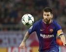 Một mình Messi ghi bàn gấp đôi hàng công Real Madrid