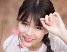 Nữ sinh Bưu chính làm duyên với hoa đào Nhật Tân