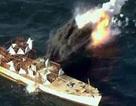 Khoảnh khắc tên lửa Triều Tiên phá nát mục tiêu trên biển