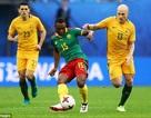 Cameroon 1-1 Australia: Chia điểm, ghìm chân nhau ở cuối bảng