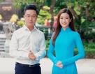 Hoa hậu Mỹ Linh xinh đẹp cổ động Đại hội Đoàn thành phố Hà Nội